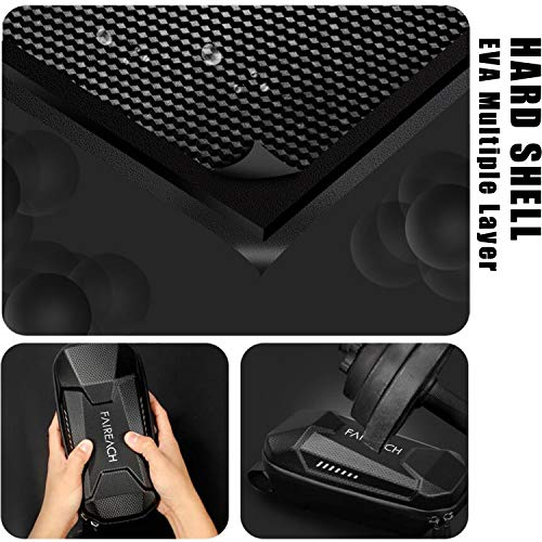 Scooter Tasche für Roller, Faireach Rollertasche Front Tube Bag Groß Lenkertasche Wasserfest, Vordertasche für Elektroroller Xiaomi MI Mijia M365 Sedway NinebotE ES1/ES2/ES3/ES4 - 4