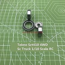 Fevas 2019 A Set of Tekno Sct410 4wd Sc Truck 1/10 Scale Rc Model Car Bearing Single Column Rodamientos