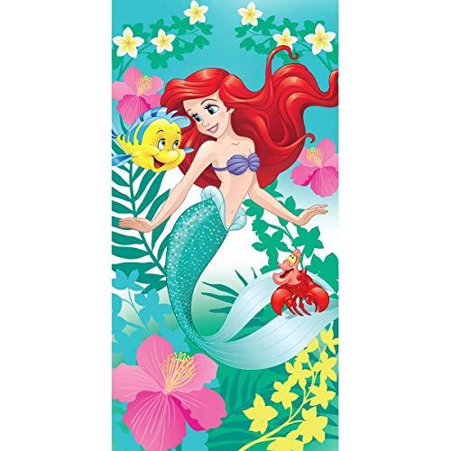 Disney Ariel Badetuch 70 x 140 Die Meerjungfrau Baumwolle