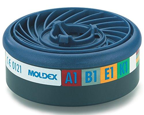 MOLDEX 869400 Gasfilter ABEK 1 für Serie 7000 plus 9000, VPE 10, 2 Stück