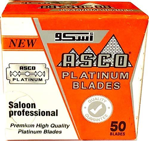 50 Lamette da barba Asco Platinum