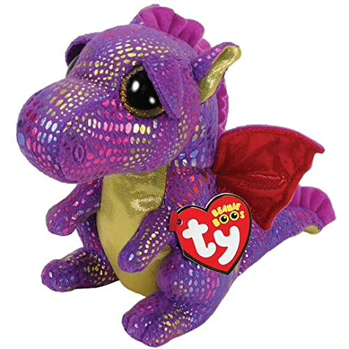 Ty Beanie Boos Spectra Purple Dragon Exclusive 6 inch