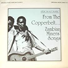 from the copperbelt... zambian miners' songs LP