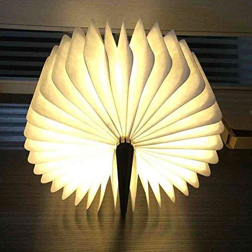 Große LED Buchlampe in Buch Form mit Akku - 6