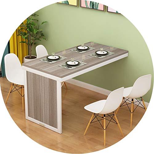 Mesas de café De Pared Mesa Plegable Pared Invisible Restaurante Comedor Cuadro De La Tabla De Ministerio del Interior...