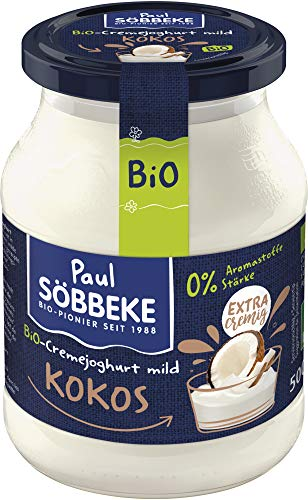 Söbbeke Bio Bio Joghurt mild Kokos 7,5 % Fett (6 x 500 gr)