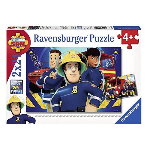 Sam, el bombero Puzzle 2 x 24 Piezas | Fireman Sam | Rompecabezas
