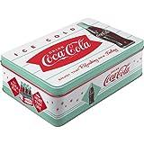 Nostalgic-Art - Coca-Cola Diner - Bote de Almacenamiento Plana