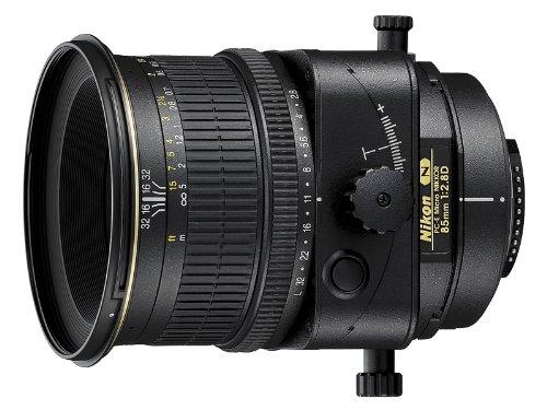 Nikon PC-E Micro 85MM F2.8D ED - Objetivo para Montura F (Distancia Focal 85 mm, Apertura f/2.8) Negro