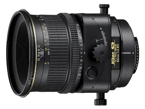 Nikon PC-E FX Micro NIKKOR 85mm f/2.8D Fixed Zoom...