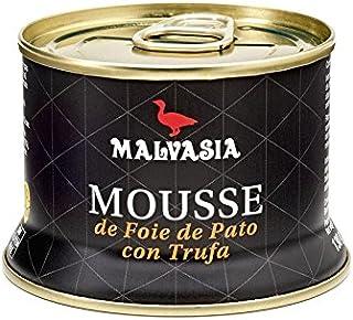 comprar comparacion Mousse de Foie de Pato con Trufa 130 g Malvasía abrefácil