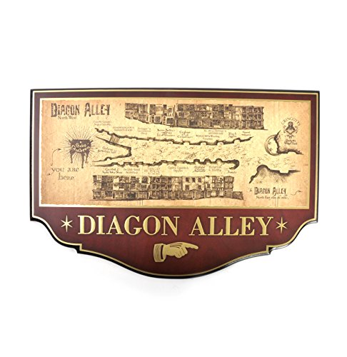 Harry Potter - Diagon Alley Wall Plaque