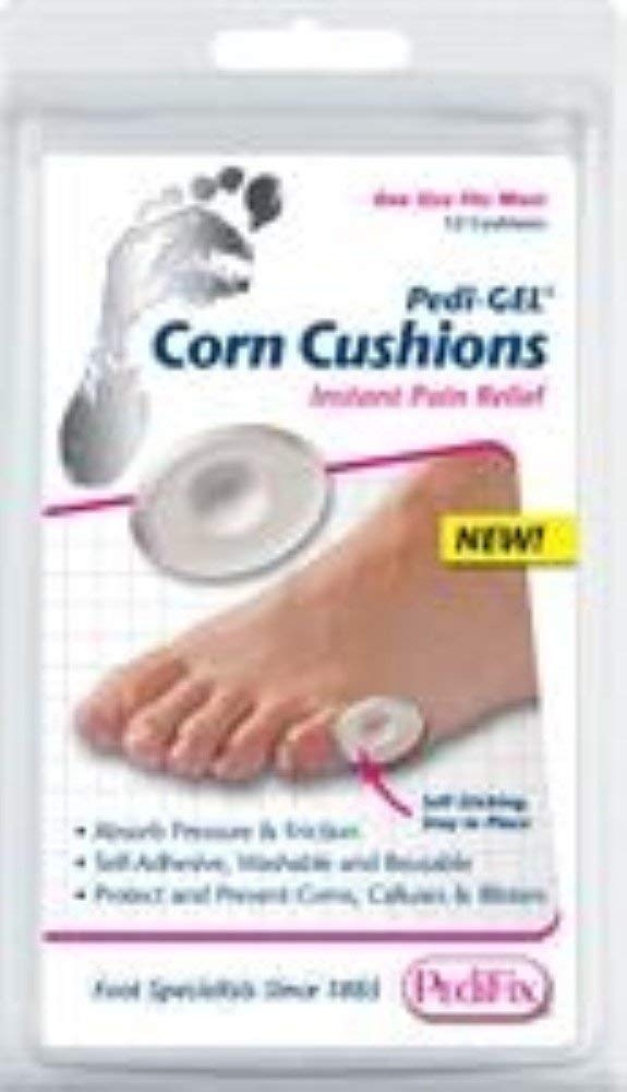 Pedifix Pedi Luxury goods Gel Corn Ea 12 12count Soldering Cushions