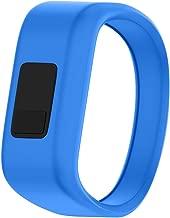 ANCOOL Compatible with Garmin Vivofit JR Bands, Soft Kids Wristbands Replacement for Vivofit JR/Vivofit JR2/Vivofit 3 Tracker (Blue, Small)