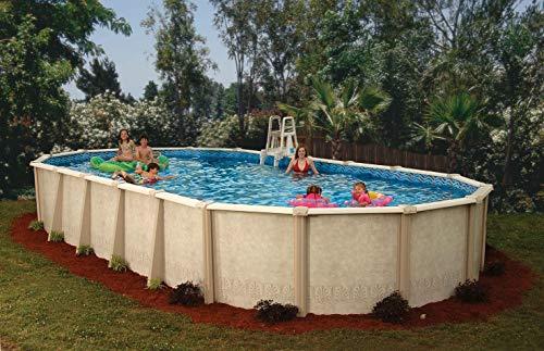 Interline 55000120 oval Pool Sunlake Komplett Set - 6