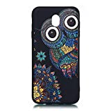 LAXIN Galaxy J3 (2017) Case, Cute Owl Design Printed Soft Back Cover with TPU Bumper Protective Case...