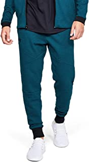 Under Armour Men's Unstoppable 2X Knit Jogger Pants, Blue (Teal Vibe/Black), X-Large