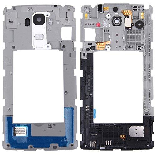 Reemplazar revisión por partes telefónicas IPartsBuy for LG G Stylo / LS770 / H631 y G4 Stylus / H635 placa trasera de la vivienda Panel de lente de la cámara con el altavoz del zumbador del campanero