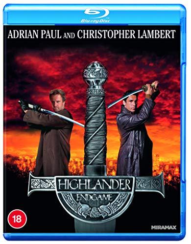Highlander IV: Endgame [Blu-ray] [2020] [Region A & B & C]
