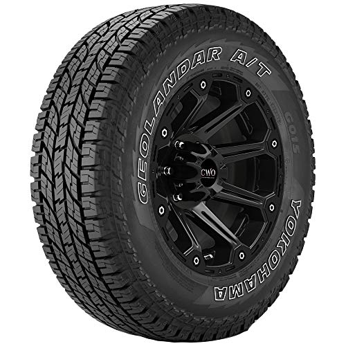 LT225/75R16 Yokohama Geolandar A/T G015 115/112R E/10 Ply White Letter Tire