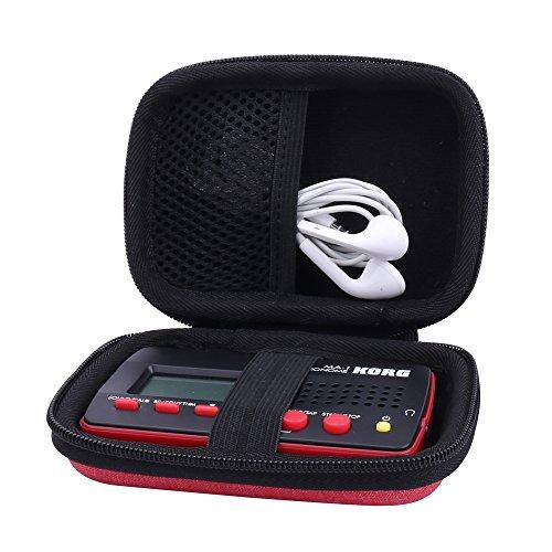 für KORG MA-1 Digitales Metronom Hart Taschen Hülle von Aenllosi (Rot)