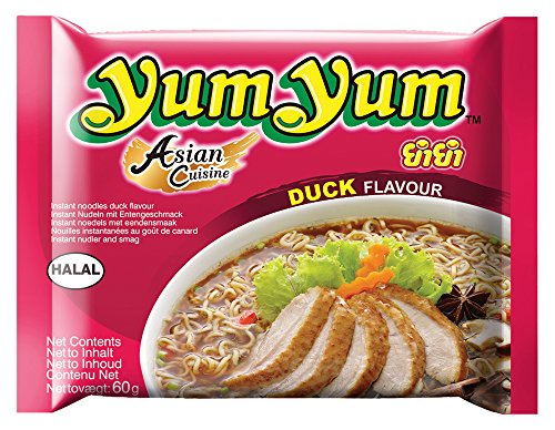 Yum Yum Instant Nudeln Ente 60g, 45er Pack (45 x 60 g)