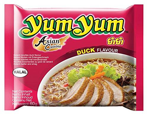 Yum Yum Noodles Duck - Pacco da 30 x 70 g