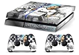 Skin Ps4 Old - CRISTIANO RONALDO REAL MADRID - limited edition DECAL COVER ADESIVA Playstation 4 Slim SONY BUNDLE