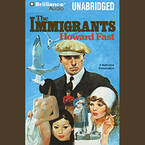 The Immigrants audiobook cover art