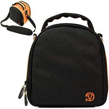 VanGoddy Laurel Titan Orange Carrying Case Bag for Kodak PixPro Astro Zoom Friendly Zoom Compact to Advanced Cameras