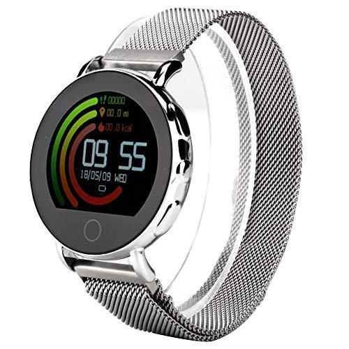 Da Dini Ip67 A Prueba De Agua Smartwatch Tlwt7 Impermeable Impermeable 1.22 Pulgadas Pantalla De Ritmo Cardíaco Pulsera Inteligente De Salud Smartwatch (a)