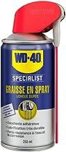 WD-40 Specialist • Graisse en Spray • Spray Double Position • Longue Durée • Protection contre la corrosion • Lubrification Extrêmement Durable • Adhère à toutes surfaces et ne coule pas • 250 ML