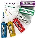 Elaboración fácil: Los niños disfrutarán usando las herramientas fáciles de agarrar y les gusta mezclar brillo con rotuladores, pintura y otros elementos esenciales creativos. ¡Dibujar, sombrear, colorear y garabatear!