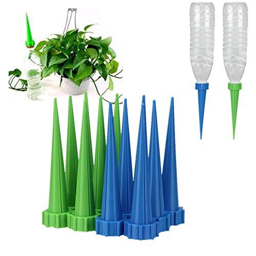 4 STKS Automatische Tuin Cone Watering Spike Plant Bloem Waterers Fles Irrigatie Systeem Willekeurige Kleuren