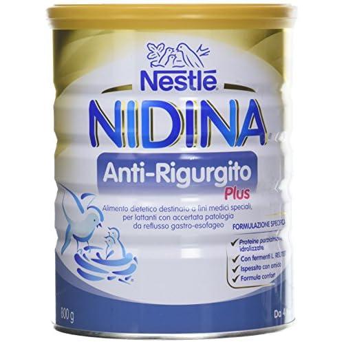 Nestlé Nidina Anti-Rigurgito Plus da 4 Mesi Alimento Dietetico - Latta 800 g