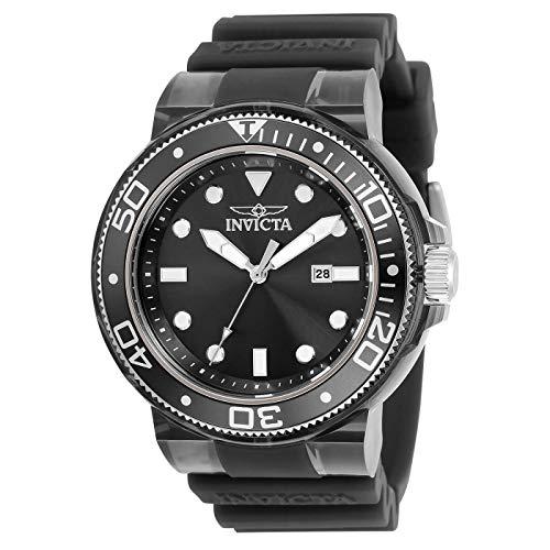 Pro Diver Quartz Black Dial Men's Watch - Invicta 32330