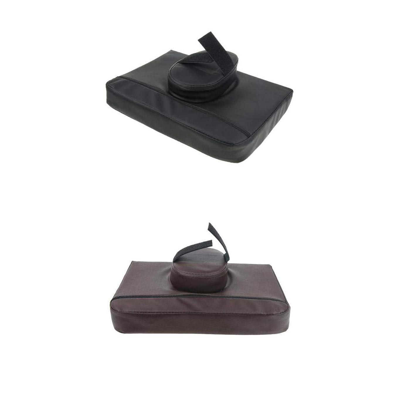 不均一資料保証Fenteer マッサージクッション マッサージ枕 マッサージピロー スクエア マッサージテーブル用 通気性 2個入