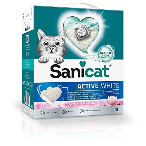 Sanicat Active + White Lotus Flower 6 L