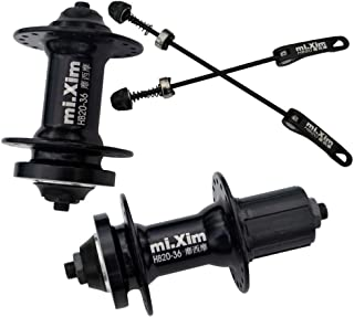 MTB Bike Hub Set Ball Bearings Disc Brake 32//36 Holes Bicycle Hubs /& Skewers