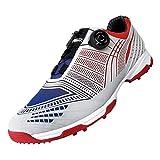 Zapatos de Golf Spike Impermeables para Hombre con Sistema de Encaje Boa