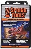SpringTools WWA996 4 Piece Woodworking Set with Center Punch, Nail Set, Combo Nail Set, Self Centering Brad Setter, Self Centering Center Punch