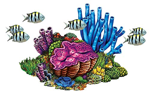 Coral Reef with Fish Porcelain Swimming Pool Mosaic (27