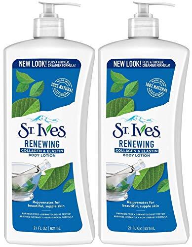 St. Ives Skin Renewing Body Lotion Collagen Elastin 21 oz(Pack of 2)
