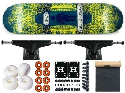 Girl biebel Centurion Skateboard Completo 7.87