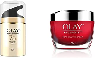 Olay Day Cream Total Effects 7 in 1, Day cream normal SPF 15, 50g
