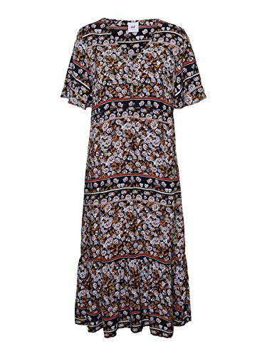 MAMALICIOUS Mama Licious Damen Still-Kleid Blumenprint SPeacoat
