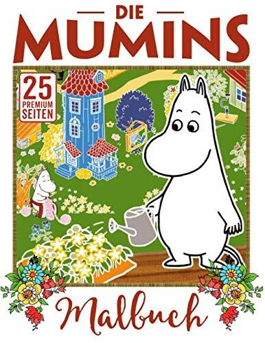 Die Mumins Malbuch: Erstaunliches Malbuch für Kinder - großes Geschenk für Mädchen