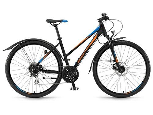 Winora Mountain Bikes Samoa 24-G Acera 17/18 Winora blk./orange/bleu mat 46