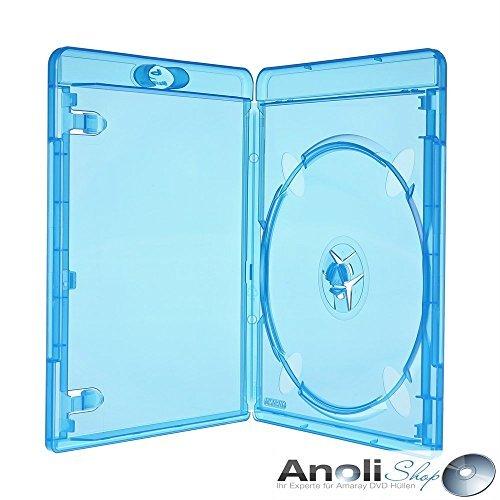 8 Blu Ray Hüllen 11 mm für 1 Bluray,DVD,CD Neuware Original Amaray Hülle