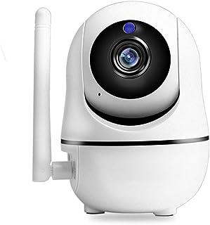 Whhhherr Cámara de vigilancia WiFi for el hogar 720p HD cámara de Seguridad for Interiores con visión Nocturna cámara de Seguridad for Exteriores con Sensor de Movimiento Amazon Cloud CAM